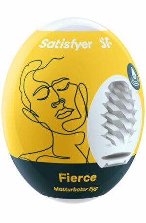 Satisfyer Masturbator Egg Single Fierce - Onaniägg 1