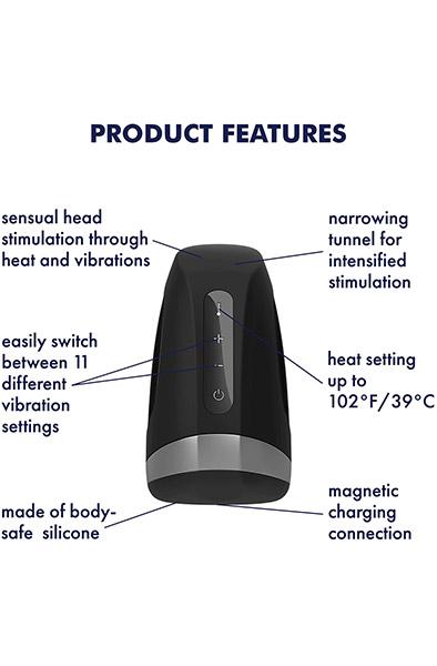 Satisfyer Men Heat Vibration - Masturbator 2