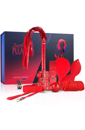 Secret Pleasure Chest Crimson Dream - Bondage paket 1