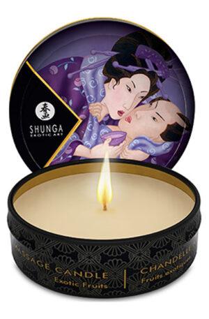 Shunga Erotic Art Massage Candle Exotic Fruits 30ml - Doft & Massageolja 1