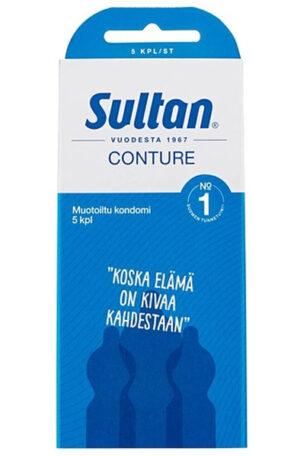 Sultan Conture 5 kpl/st - Kondomer 1