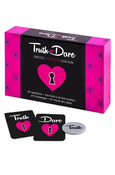 Tease & Please Truth or Dare Erotic Couple's Edition - Sexspel 1