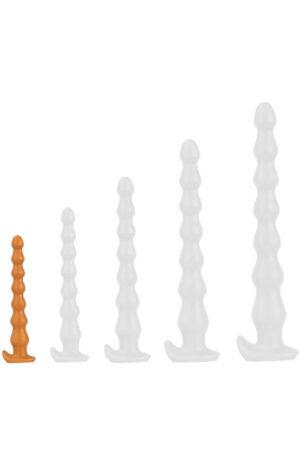 TheAssGasm Plug Long Chap Beads 22 cm - Analdildo 1