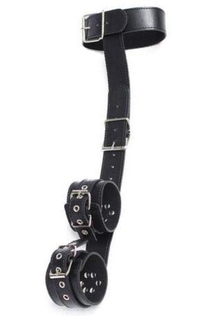 TOYZ4LOVERS Easy Cuffs + Collar Restraint - Bondage sele 1