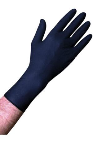 Unigloves Select Black 300 Gloves M 100pcs - Engångshandskar 1