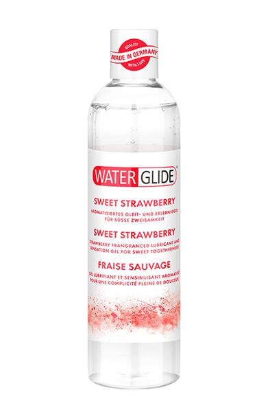 Waterglide Sweet Strawberry 300ml - Glidmedel med jordgubbssmak 1