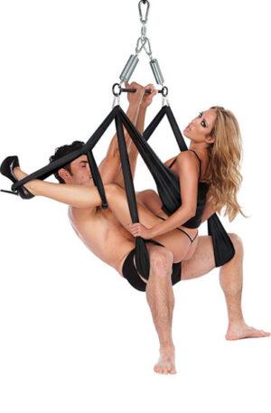 Whipsmart Yoga Pleasure Swing Black - Sexgunga 1